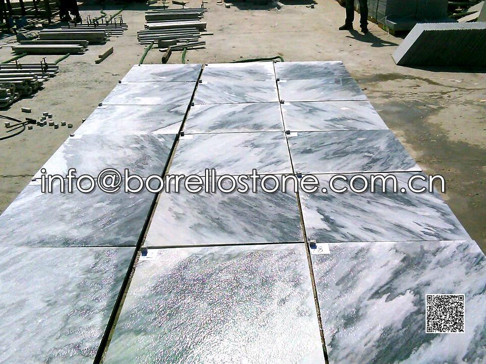Grey Marble Medallion Tiles