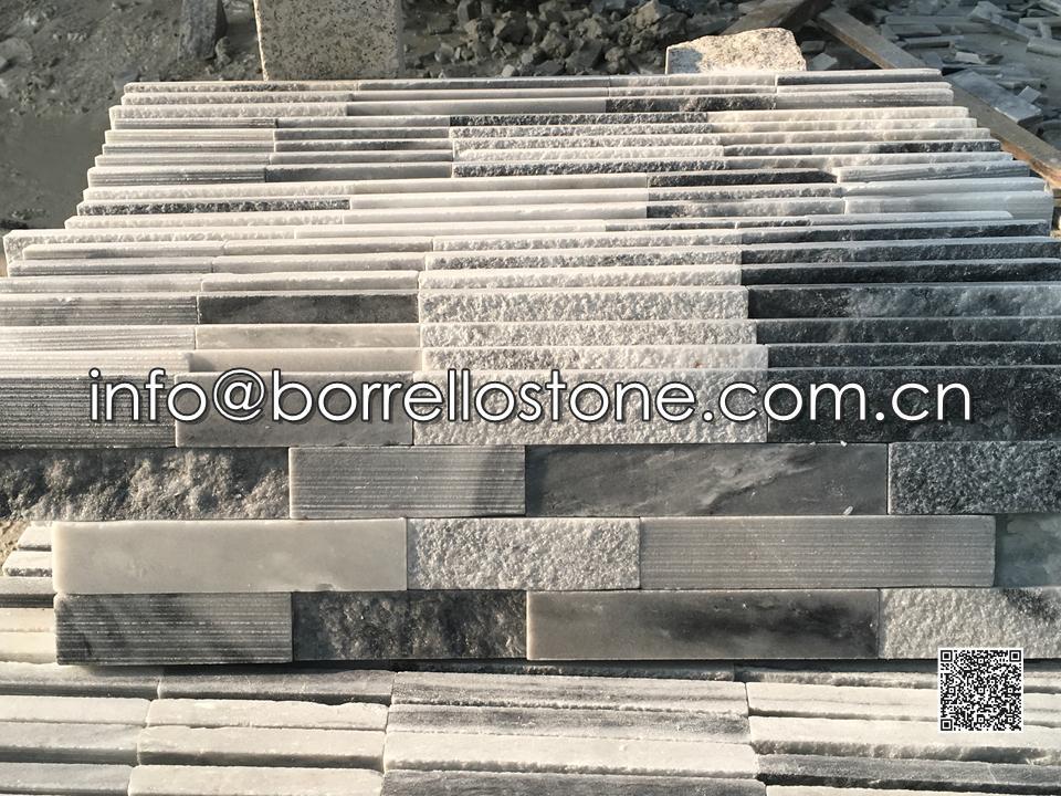 3D - Grey Marble Stacked Venee