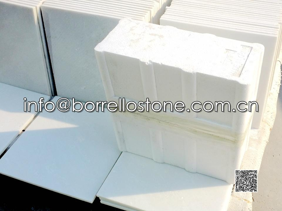 White Marble Sheet Tiles Packaging