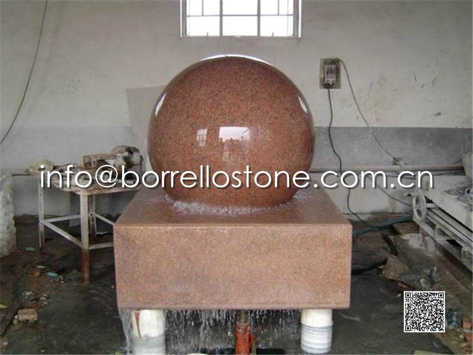 Stone Sphere Fountain - 2