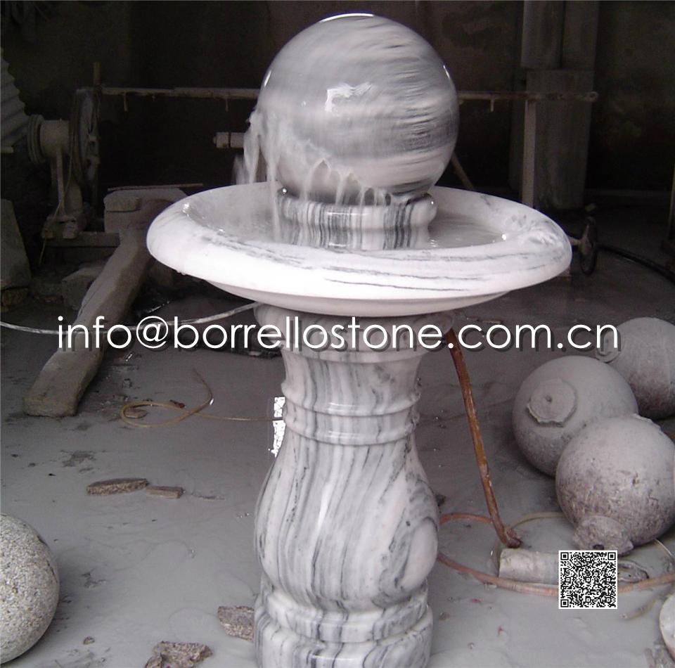Stone Sphere Fountain - 17