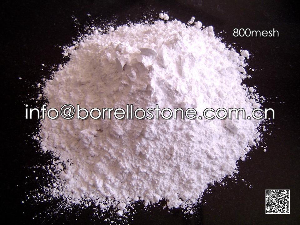 800 mesh white marble powder