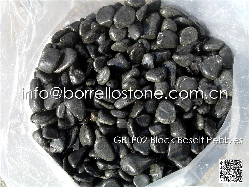 GBLP02-Black Basalt Pebble