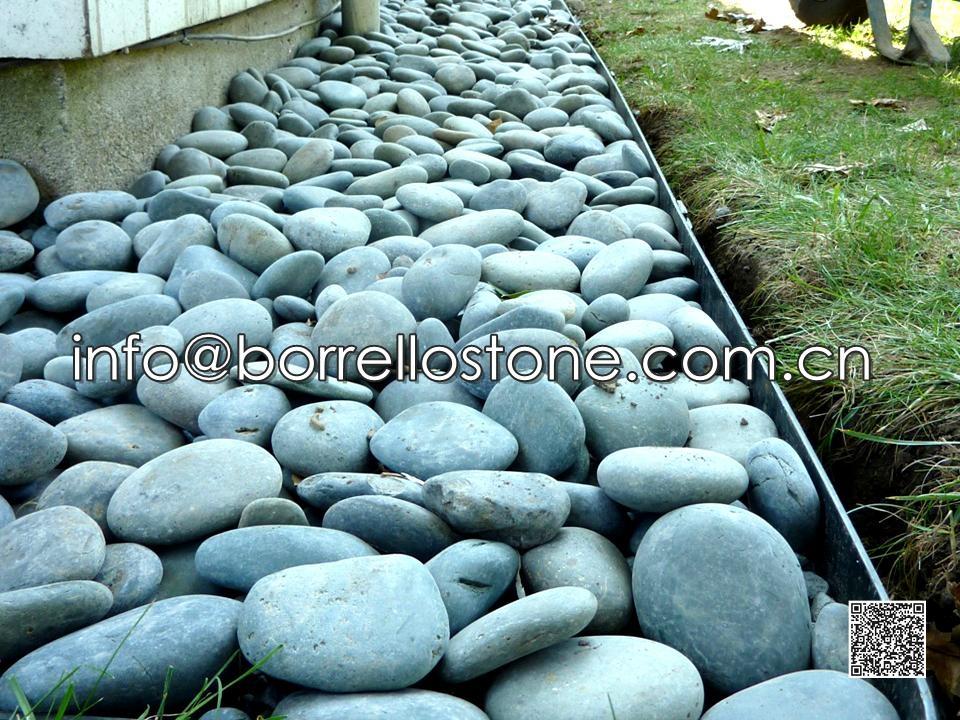 Flat Dark Grey Pebble