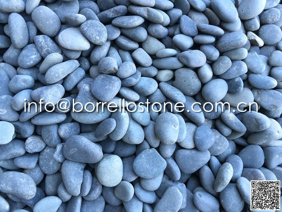 Flat Dark Grey Pebble Bulk (Dry)