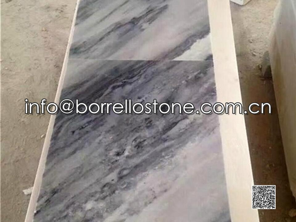 Cloud Grey Marble Tiles (Polished)