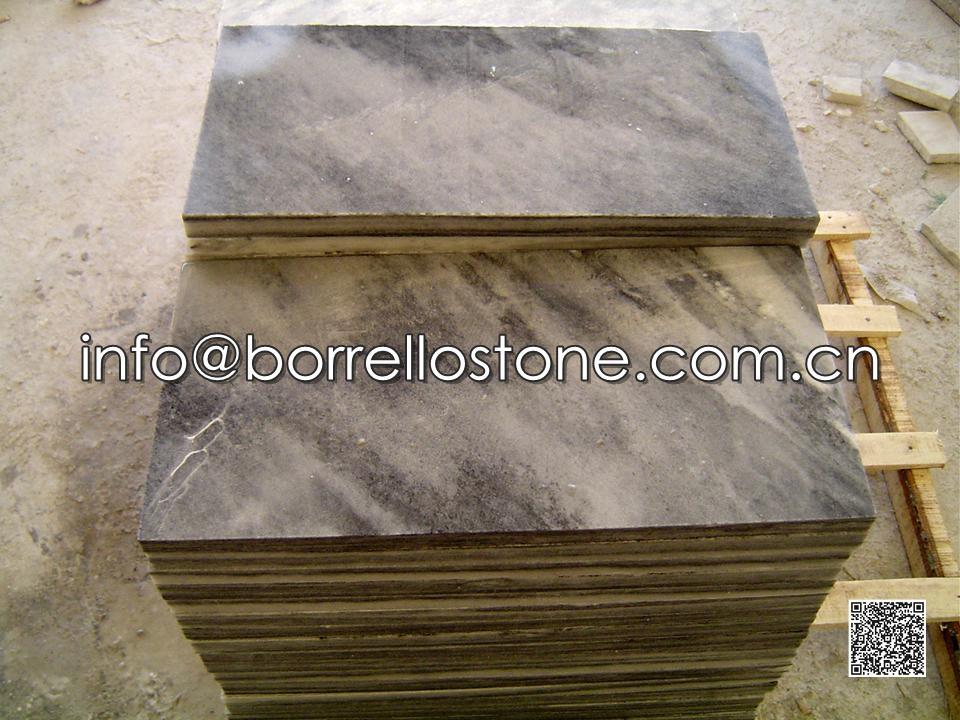 Cloud Grey Marble Tiles (Honed)