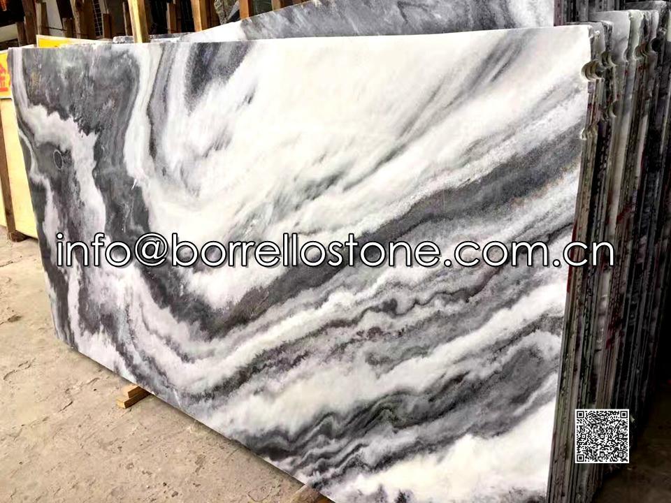 Grey Marble Gang Sawn Slabs (Polished)