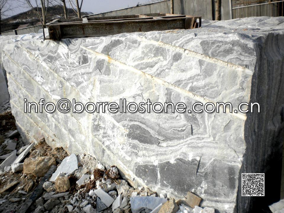 Grey Marble Block