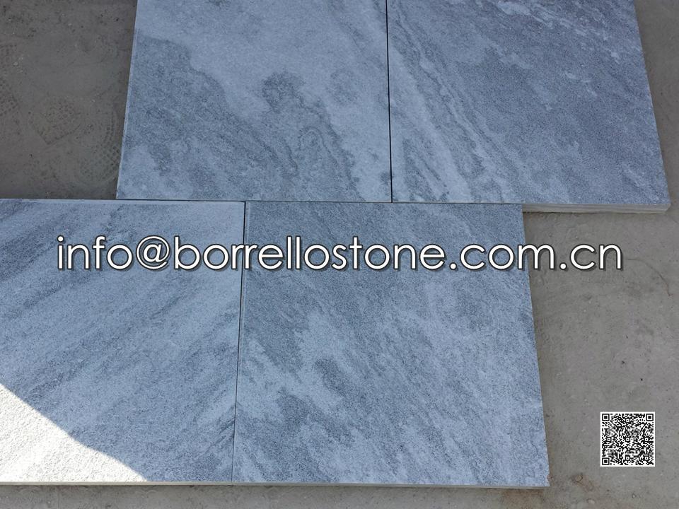 Grey Marble Pool Deck Paver
