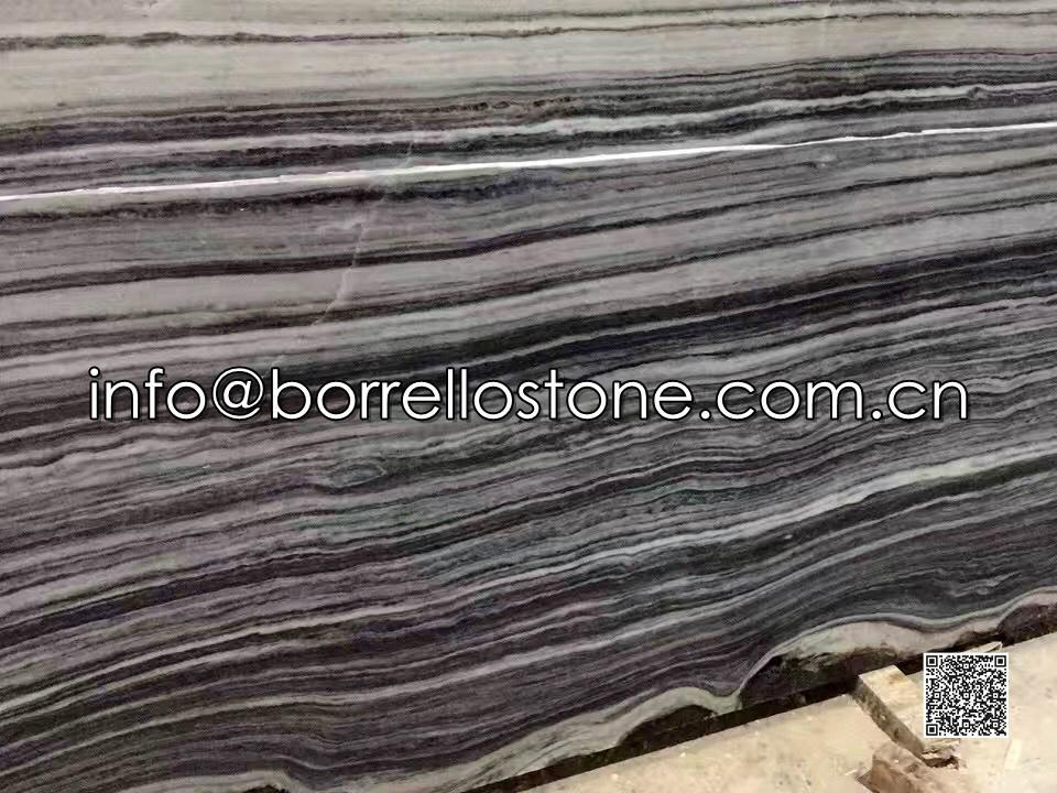 Strip Grey Marble Slabs