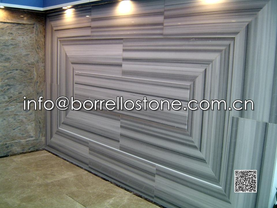 Strip Grey Marble - Wall Background Wall Tiles