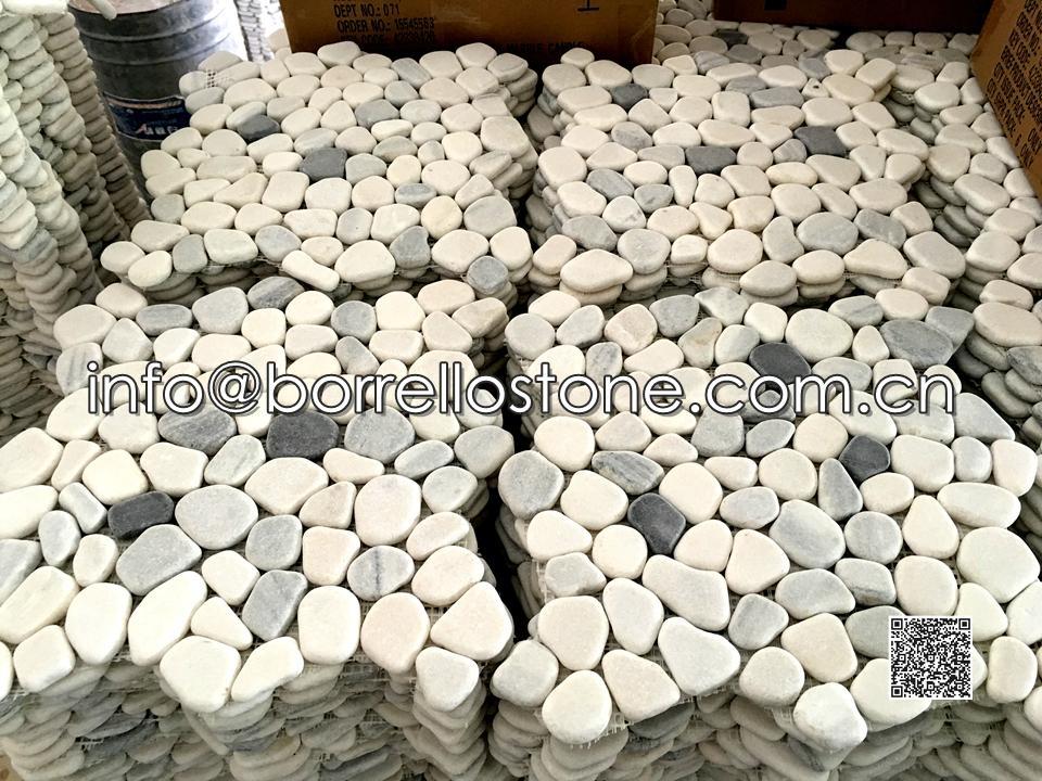 Grey Marble Mosaic Tile Mesh