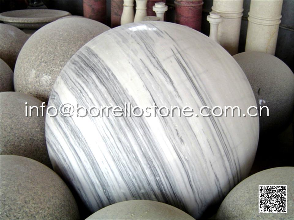 Grey Marble Ball