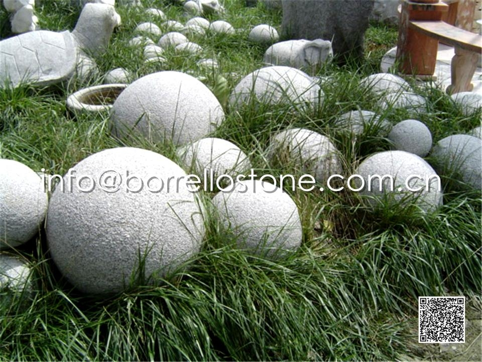 Landscaping Granite Ball