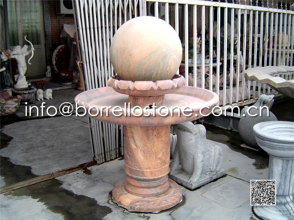 Stone Sphere Fountain - 7