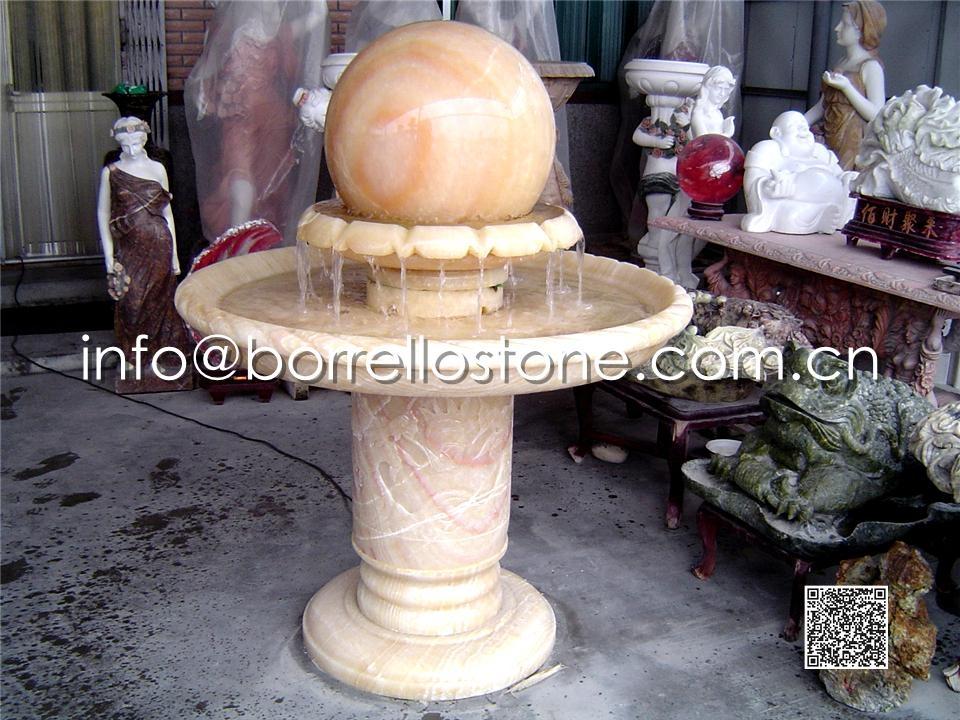 Stone Sphere Fountain - 8