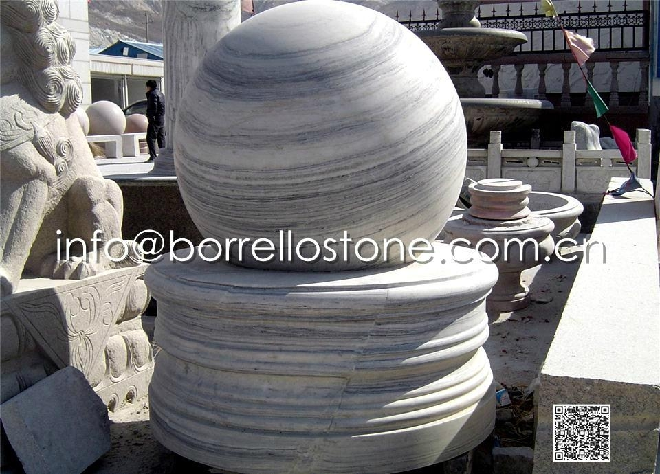 Stone Sphere Fountain - 9