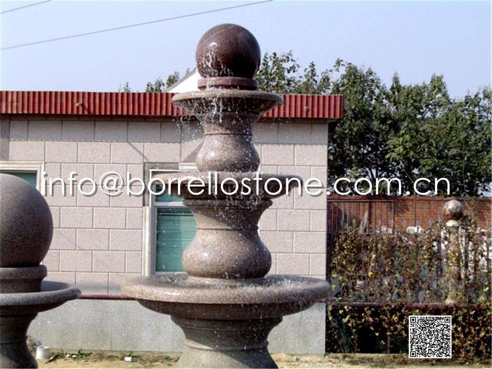 Stone Sphere Fountain - 11