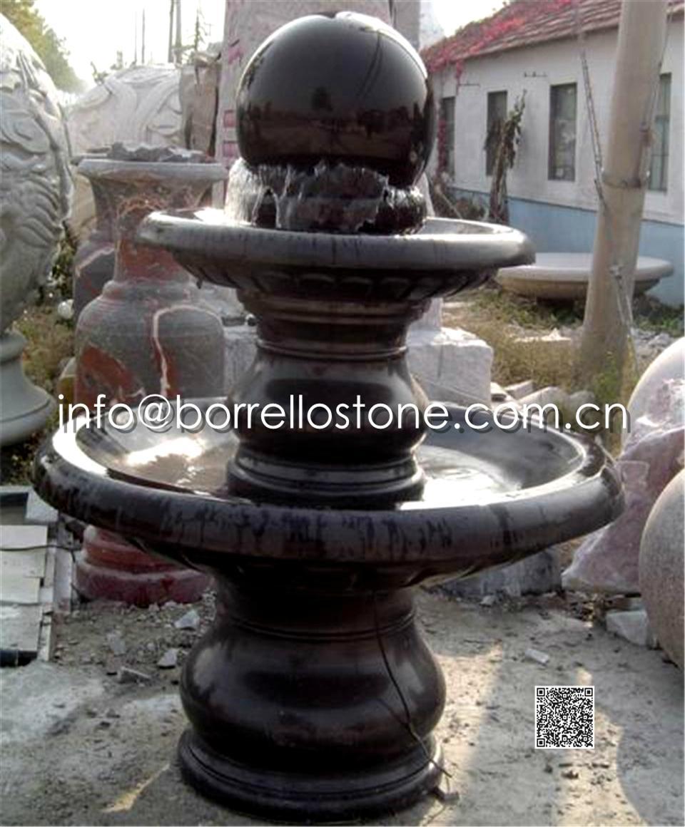 Stone Sphere Fountain - 18