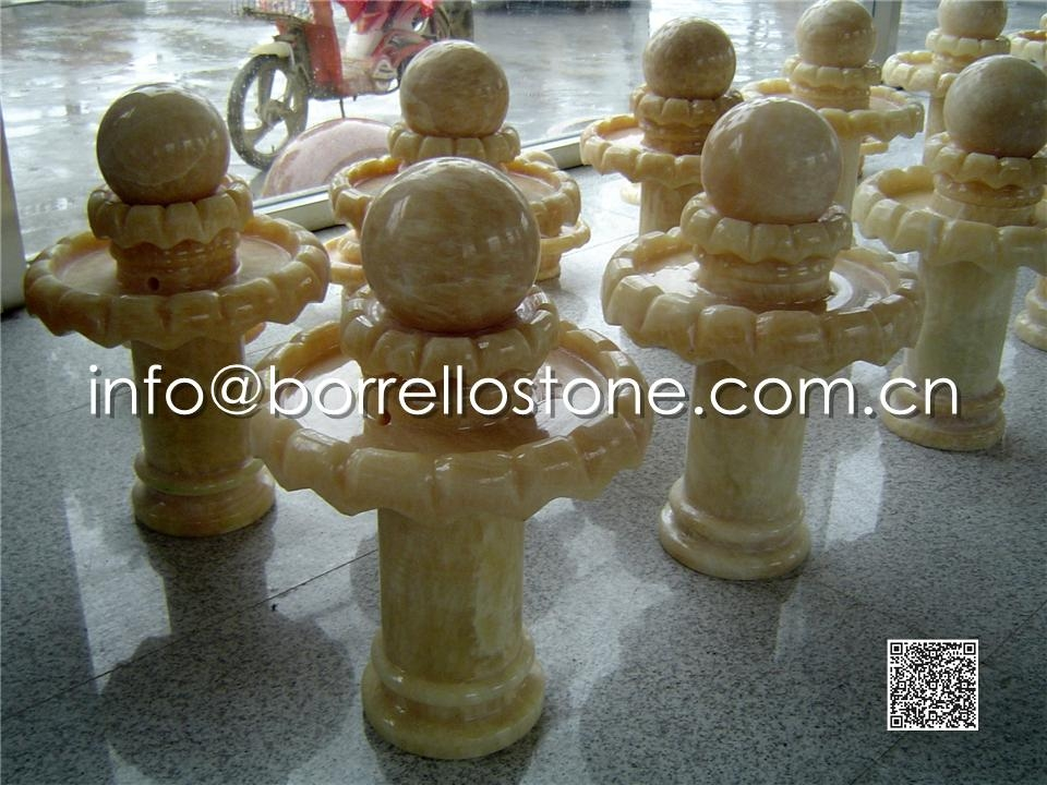 Stone Sphere Fountain - 22