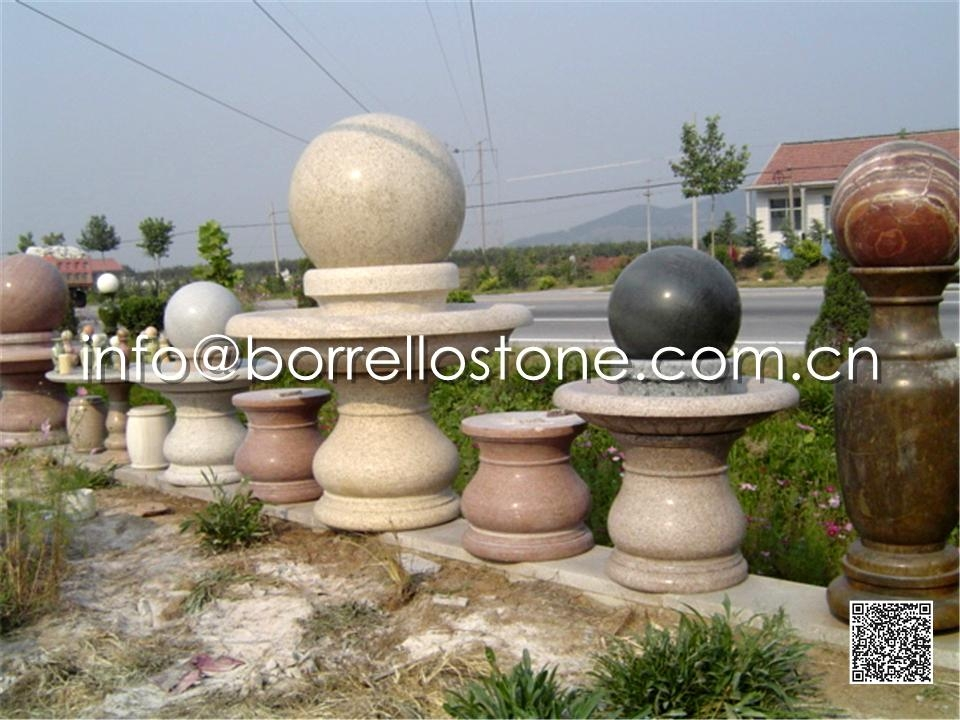 Stone Sphere Fountain - 23