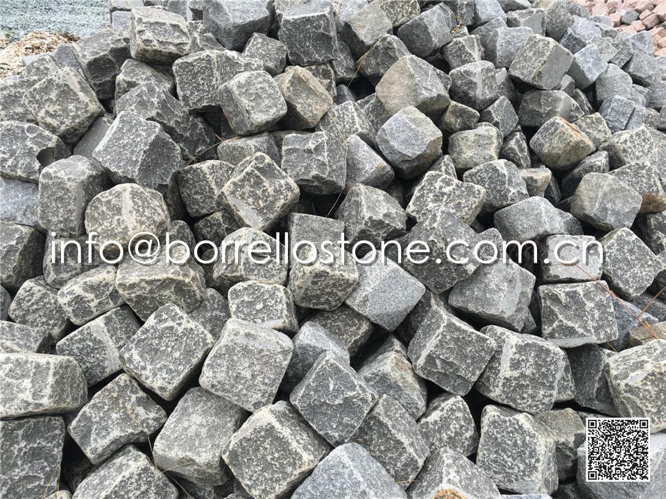 Black Granite Cube