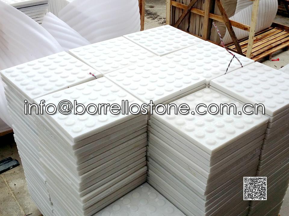 Blind Stone - White Marble