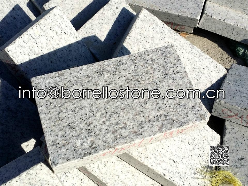 White Granite G365 Paver (Flamed)