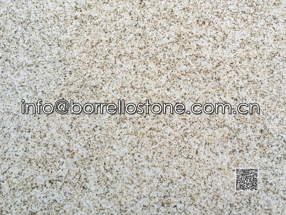 Beige granite G350 - Bush Hammered