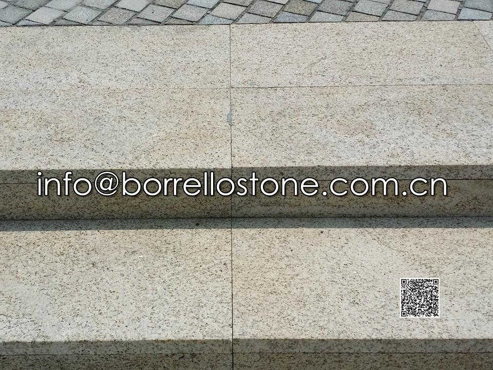 Beige granite G350 Block Steps