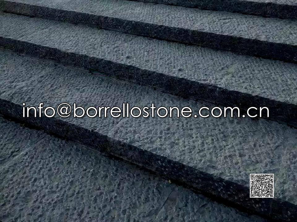 Blue Limestone Steps