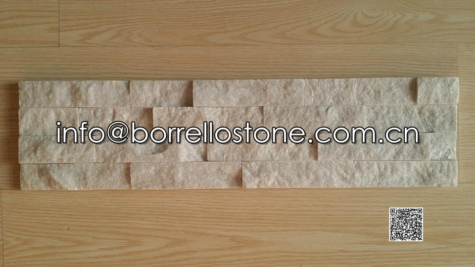 Stacked Stone (white marble) - 03