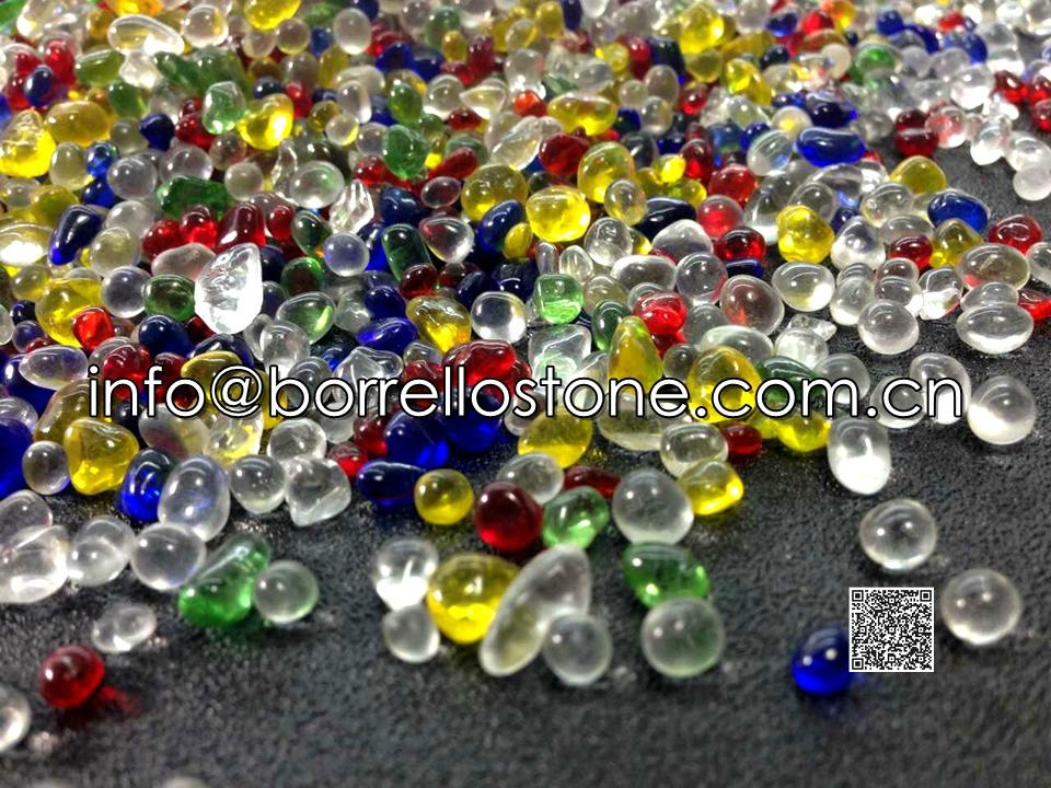 Irregular Glass Beads