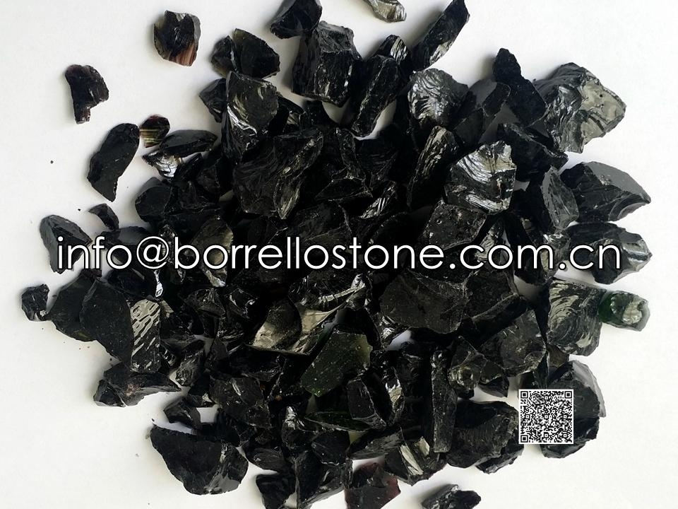 Glass Chips - Black