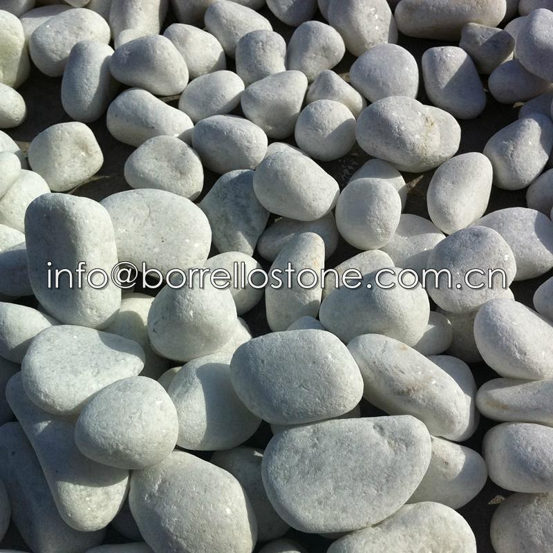 White Pebble Stone For Garden 1 ...