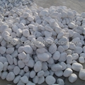 5-8mm white pebble stone