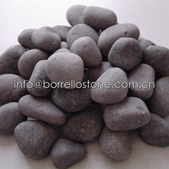 natural stone black pebble