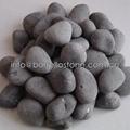 natural stone black pebble