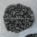 black basalt pebble stone