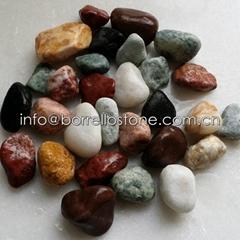 mixed color garden pebble
