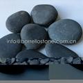 blue river pebble stone
