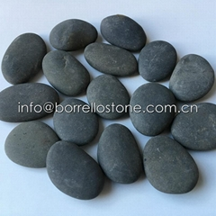 blue river pebble stone