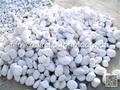 white marble boulder