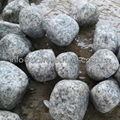 white granite cobble