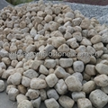 yellow granite cobble