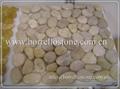 natural color polished pebble tile