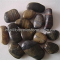strip polished pebble stone