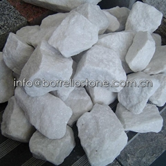 white marble crushed stone