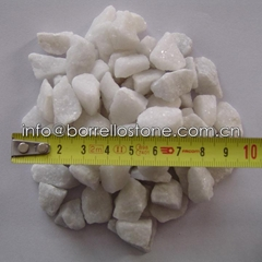 white gravel 8-12mm